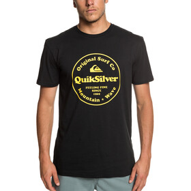 Quiksilver Secret Ingredient Camiseta manga corta Hombre, black